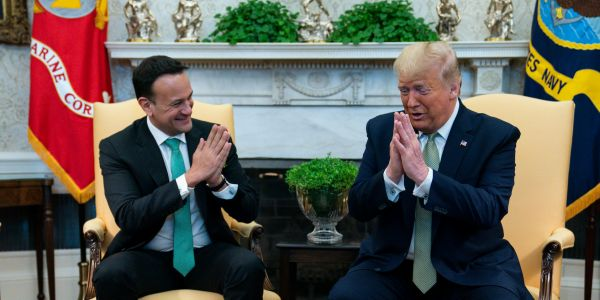 Ireland's prime minister, a former doctor, rejoined the health service and will work one shift a week to battle the coronavirus