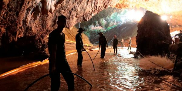 A US Airman describes what it was like to be part of the 'once in a lifetime rescue' of the Thai soccer team trapped in a flooded cave
