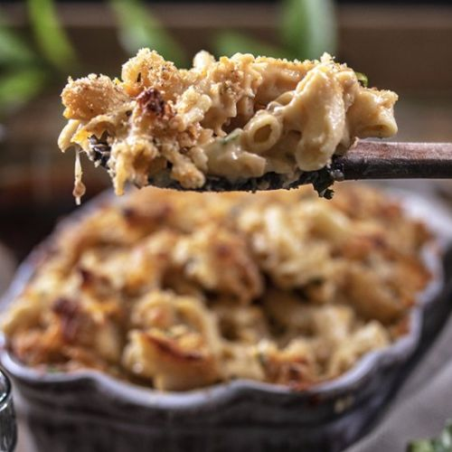 Garlic and Onion Mac and Cheese