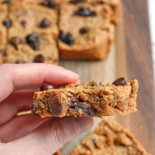 Paleo Cherry Chocolate Chip Bars