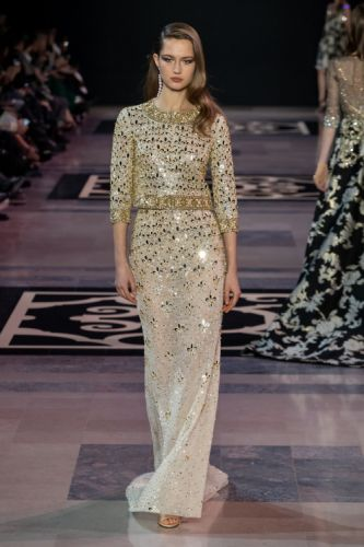 GEORGES HOBEIKA Haute Couture Spring Summer 2019 reflects the