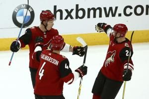 Pacioretty's OT goal leads Golden Knights past Coyotes 3-2
