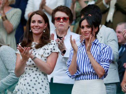 Meghan Markle's Wimbledon outfit might have been a subtle nod to Prince Harry