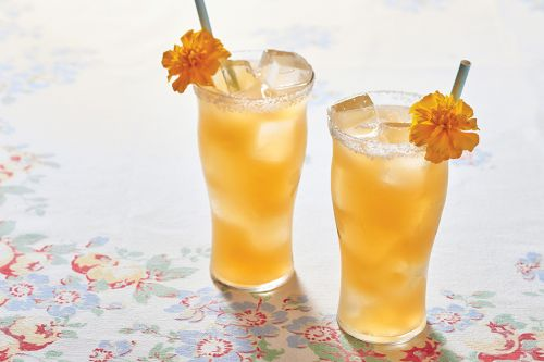 Orange Wine Cocktail: Going for Gold
