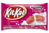Hershey's Has Raspberry Crème Kit Kats and Chocolate Lava Kisses For Valentine's Day!