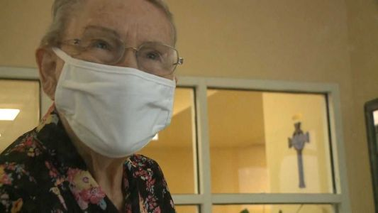 90-year-old knits hats, sells them from nursing home during pandemic