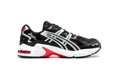 """ASICS Delivers Fall-Ready Footwear With GEL-KAYANO 5 OG """"Black/Silver"""""""