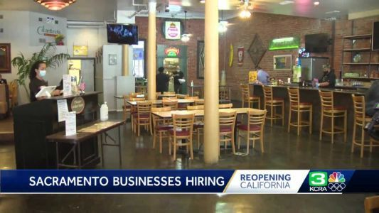 Hundreds of job opportunities for Sacramento residents as state plans to reopen