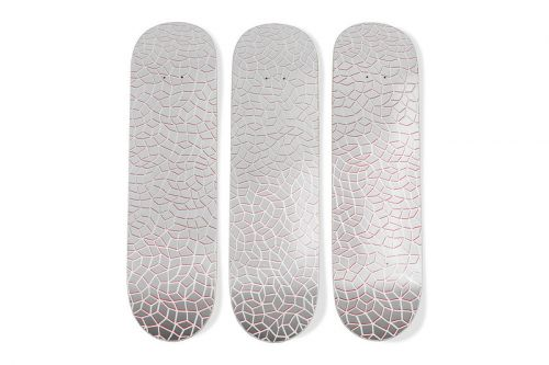 MoMA Rejoins Yayoi Kusama for Limited 'Infinity Nets' Skateboards