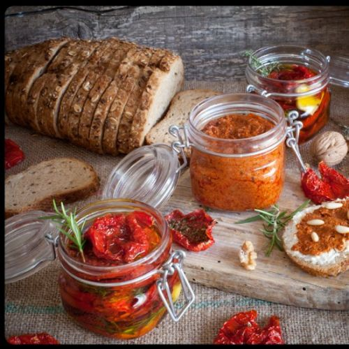 DEHYDRATED TOMATOES PATÉ
