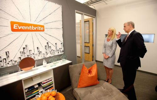 Eventbrite prices its IPO at $23 a share
