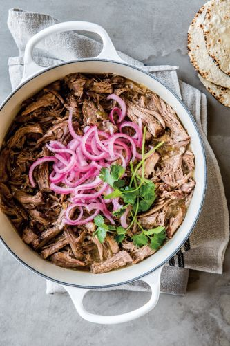 Carnitas with Pickled Red Onion