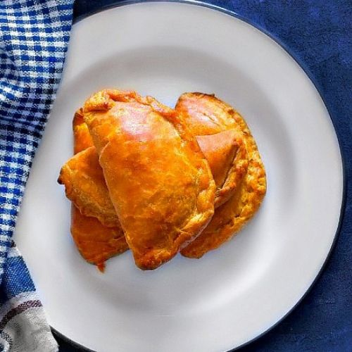 Indian Lamb Curry Puffs