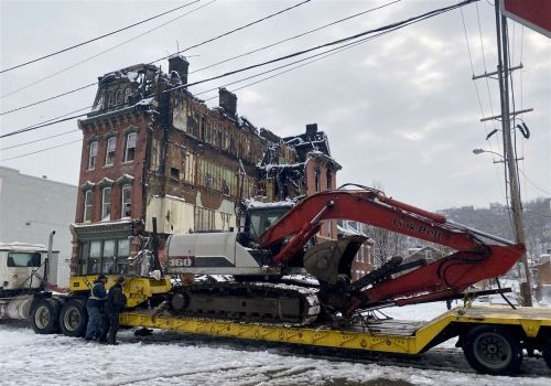 Pittsburgh man charged with starting fire that destroyed historic South Side building