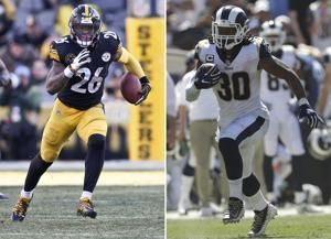 Gurley gets top RB spot in AP rankings with Bell still out