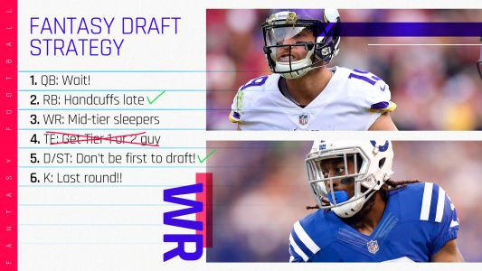 2018 Fantasy Football Rankings Tiers, Draft Strategy: Wide receiver