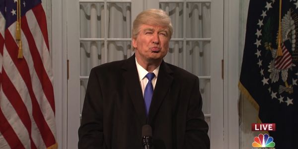 'SNL' mocked Trump's border wall national emergency - and Trump wasn't happy