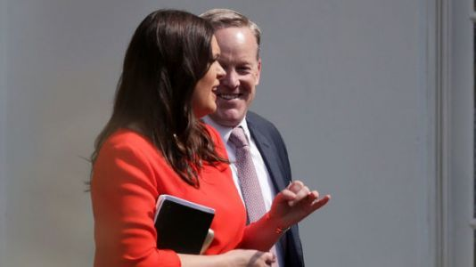 Sean Spicer Praises Successor Sanders: 'She Understands What The President Wants'