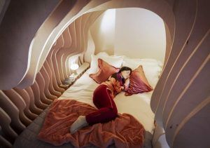 Guests can now 'sleep like a baby' in womb rooms