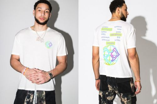 Ben Simmons Partners With Woolmark and HBX to Launch Limited Edition Tee