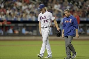 Mets RHP Syndergaard has 'low-grade' hamstring strain