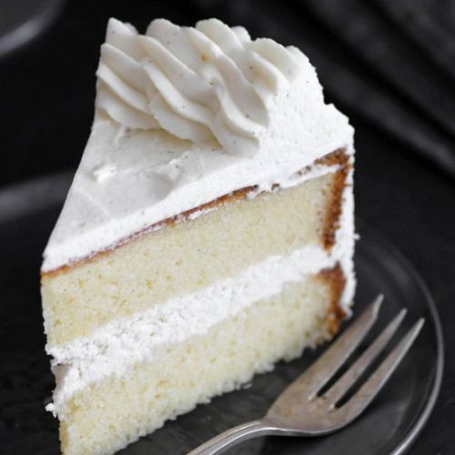 The Most Amazing Vanilla Cake