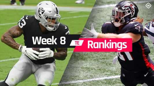 Week 8 Fantasy TE Rankings: Must-starts, sleepers, potential busts at tight end