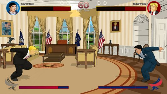 A new video game about the 2020 election lets you fight as Donald Trump, Andrew Yang, Bernie Sanders, Elizabeth Warren, or Cory Booker