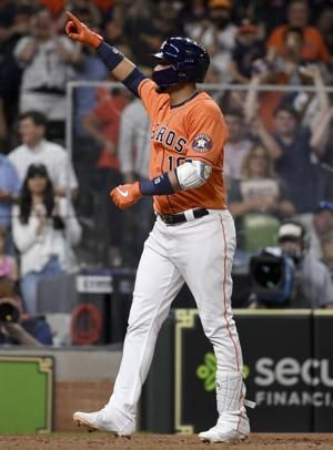 Gurriel's 4 RBIs lead Astros to 10-4 win over Blue Jays