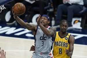 Wizards' Beal out at least 2 games with strained hamstring