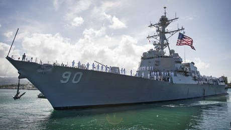 US Navy insists destroyer was on 'routine' mission after Russia summons military attache over Sea of Japan incident