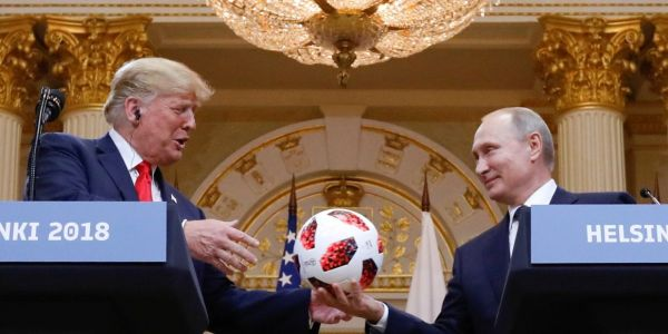 Putin's soccer ball gift to Trump may be bugged, or worse - and the US may never know