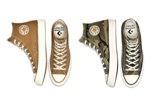 Carhartt and Converse Reconvene For a Duo of Chuck 70 Hi Collaborations