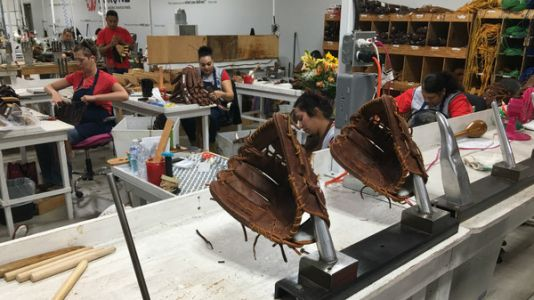 A Small Town In Texas Is Home To One Of The Last Baseball Glove Factories In The U.S