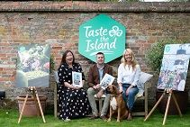 Celebrity chef Clodagh McKenna joins Tourism Ireland to launch Taste the Island in Britain - at her home in Highclere Park