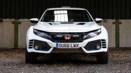 The 'Honda Civic Type OveRland' Is a Lifted Honda Civic Type R and It Looks Mean