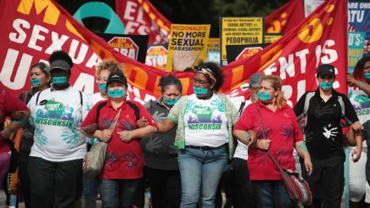 McDonald's Protests Over Sexual Harassment Grow As Shareholders Meet