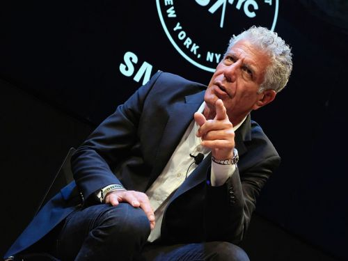 Anthony Bourdain described a brutal fantasy of Harvey Weinstein's demise in a newly-released interview given just months before his own death