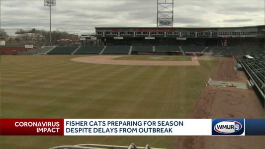 New Hampshire Fisher Cats preparing for season despite delays
