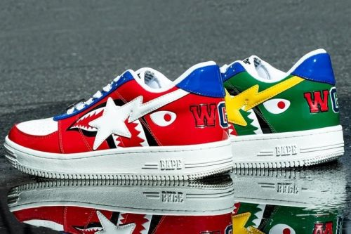 BAPE Serves Up New Shark-Equipped BAPE STAs