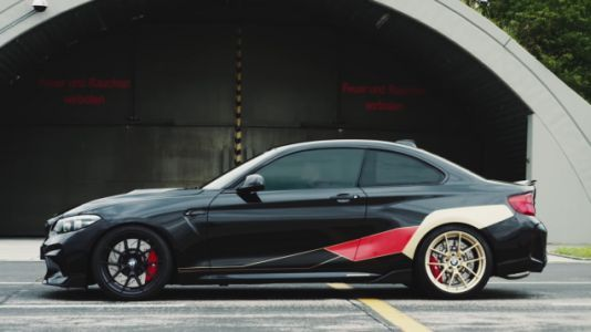 I Am Losing My Mind Over This BMW M2 Competition With German Livery