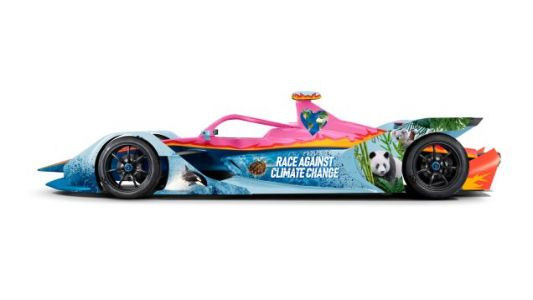 This Formula E Team Has A Totally Awesome Livery Designed By An 11-Year-Old