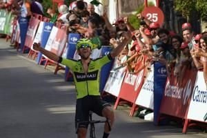 Close to home, Iturria takes Vuelta stage for 1st win