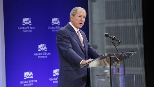 George W. Bush Slams 'Bigotry,' Politics Of Populism That Led To Trump, Sanders