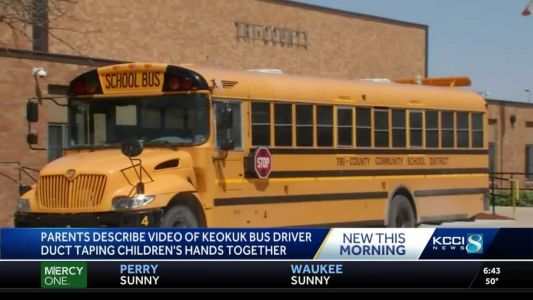 No charges filed against former Iowa school bus driver in duct-taping incident