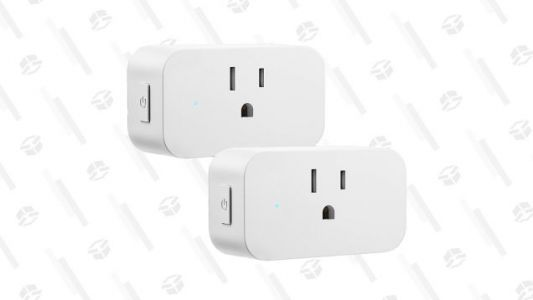 Start Smart-ifying Your Home With 50% Off This Pack of Smart Plugs