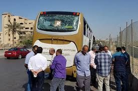 Tourist bus en-route Giza Pyramids hit by explosion, 14 injured