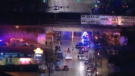 Two Chicago officers struck, killed by commuter train