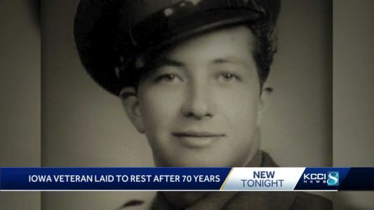 Family of Iowa Veteran says they finally get closure 70 years later