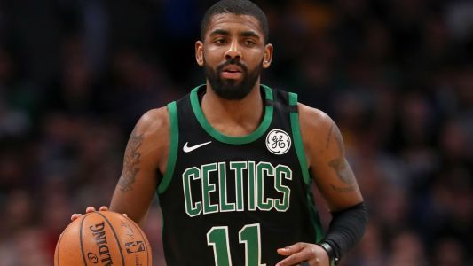 Kyrie Irving suffers scratched cornea in Monday's loss to Spurs